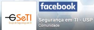 Logo GSeTI USP no Facebook