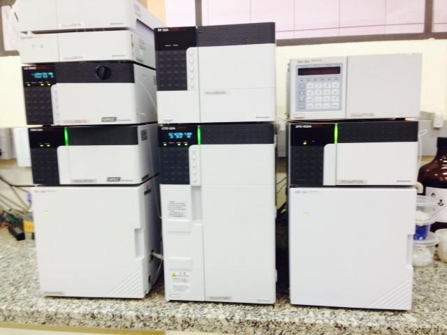 Cromatógrafo Líquido de Alta Eficiência (HPLC)