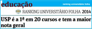 Ranking Universitário Folha 2014