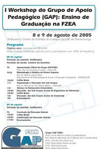 1º Workshop de Ensino de Graduação na FZEA