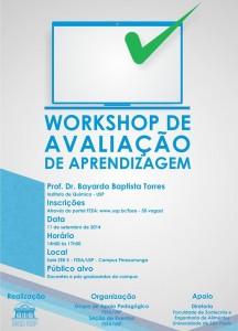 Workshop Avaliação de Aprendizagem