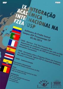 IX Integração Acadêmica Internacional na FZEA