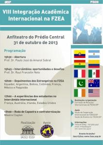 VIII Integração Acadêmica Internacional na FZEA