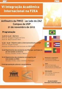 VI Integração Acadêmica Internacional na FZEA