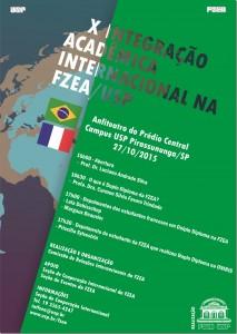 X Integração Acadêmica Internacional na FZEA