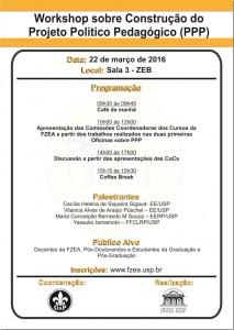 Workshop sobre Construção do PPP