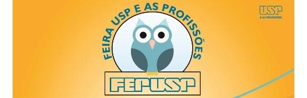 Banner Feira USP e as Profissões