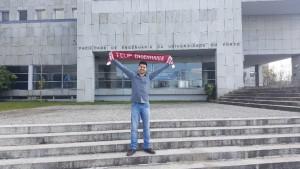 Aluno Daniel Gonçalves na Universidade do Porto / Portugal