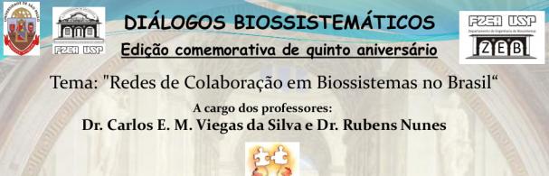 Banner Diálogos Biossistemáticos 29/04/2016 ZEB/FZEA