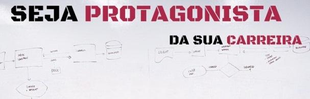 Banner Palestra Seja Protagonista da Sua Carreira