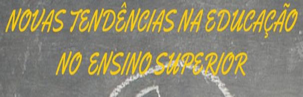 Banner Palestra Novas Tendências na Educação no Ensino Superior