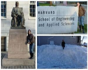 Aluna Talita Aline Comunian em Harvard / EUA