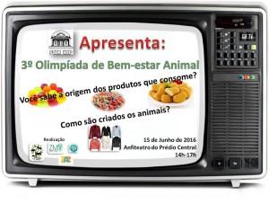 3ª Olimpíada de Bem-Estar Animal