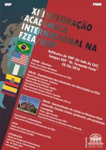 XI Integração Acadêmica Internacional na FZEA