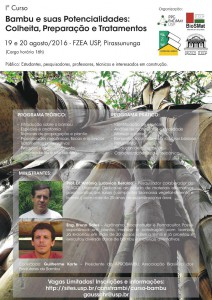 1º Curso Bambu e suas Potencialidades