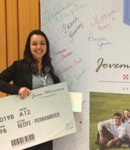Bruna Ronchezi - 1º lugar Jovem Veterinário Nestlé PURINA 2016