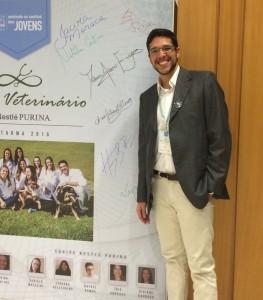 Henrique Belchior Cavalcanti Pereira - 3º lugar Jovem Veterinário Nestlé PURINA 2016