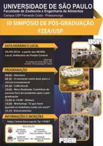 III Simpósio de Pós-Graduação da FZEA