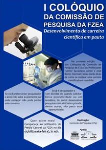 Logo I Colóquio da Comissão de Pesquisa da FZEA