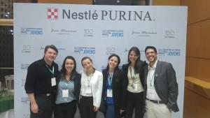 Premiação Programa Jovem Veterinário Nestlé PURINA - Equipe FZEA