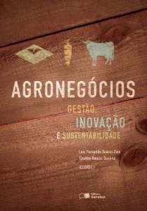 """Capa do livro """"Agronegócios: Gestão, Inovação e Sustentabilidade"""""""