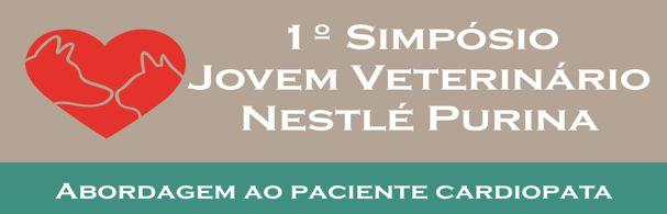 Banner 1º Simpósio Jovem Veterinário Nestlé Purina