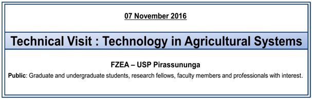 Banner Technical Visit Technology in Agricultural Systems