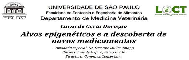 Banner Curso Alvos epigenéticos e a descoberta de novos medicamentos