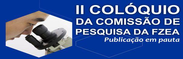 Banner II Colóquio da Comissão de Pesquisa da FZEA