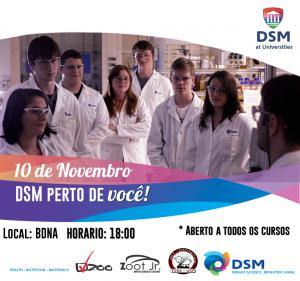 DSM at Universities – DSM mais perto de você