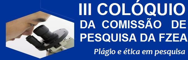 Banner III Colóquio da Comissão de Pesquisa da FZEA