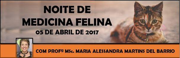 Banner Noite de Medicina Felina