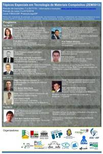 Tópicos Especiais em Tecnologia de Materiais Compósitos (ZEM5013)