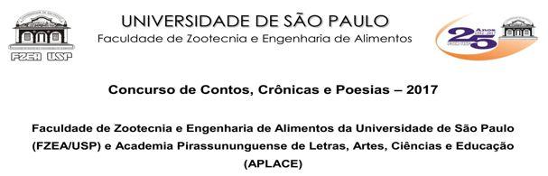 Banner Concurso Literário FZEA 25 Anos