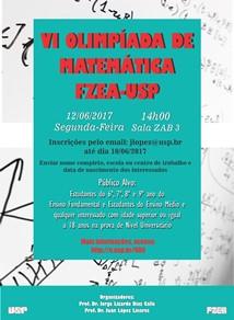 VI Olimpíada de Matemática FZEA-USP