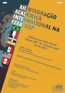 XII Integração Acadêmica Internacional na FZEA