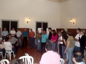 19/02/2005 - Apresentação de novos Docentes e Funcionários durante o 1ª Encontro do Plano Estratégico e de Metas da FZEA. Foto: Régis Gonçalves.