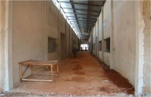 Dez./2009 – Construção do Bloco Didático de Nutrição Animal (BDNA). Foto: Acervo FZEA.