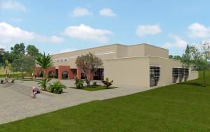 2009 - Perspectivas das novas instalações da Biblioteca Central FZEA/USP. Imagem: Acervo FZEA.