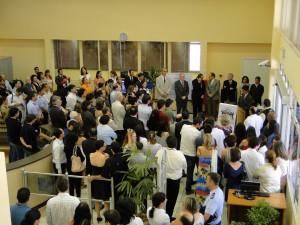 23/09/2011 - Inauguração do edifício da Biblioteca Central FZEA. Foto: Ernani Coimbra.