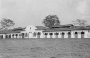 Cavalariça, década de 40/50. Foto: Acervo Digital FZEA.