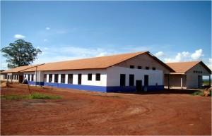 Dez./2012 – Construção da Unidade Didática Clínico Hospitalar (UDCH). Foto: Acervo FZEA.