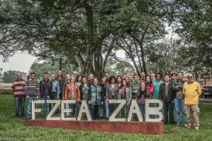 2017 – Docentes e Funcionários ativos do Departamento de Ciências Básicas (ZAB). Foto: Andrezza Maria Fernandes.