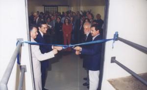 02/08/2002 - Inauguração do Laboratório de Operações Unitárias, durante comemoração dos 10 anos da FZEA. Foto: Ricardo Galeni.