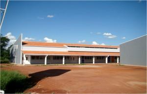 Dez./2012 – Construção do Bloco Didático de Engenharia de Biossistemas. Foto: Acervo FZEA.