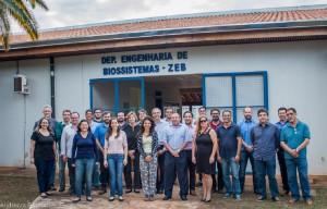 2017 – Docentes e Funcionários ativos do Departamento de Engenharia de Biossistemas (ZEB). Foto: Andrezza Maria Fernandes.