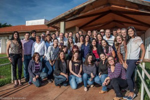 2017 – Docentes e Funcionários ativos do  Departamento de Engenharia de Medicina Veterinária (ZMV). Foto: Andrezza Maria Fernandes.