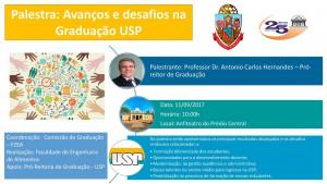 Palestra Avanços e desafios na Graduação USP