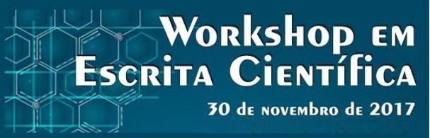 Banner Workshop em Escrita Científica