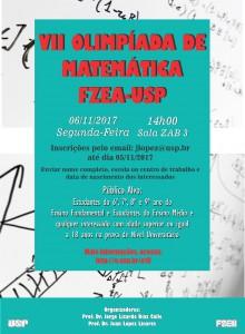 VII Olimpíada de Matemática FZEA-USP